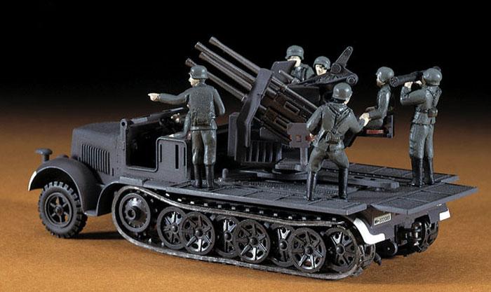 8トンハーフトラック 20mm4連装砲プラモデル(ハセガワ1/72 ミニボックスシリーズNo.MT014)商品画像_3