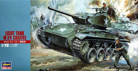 M24 チャーフィー軽戦車プラモデル(ハセガワ1/72 ミニボックスシリーズNo.MT019)商品画像