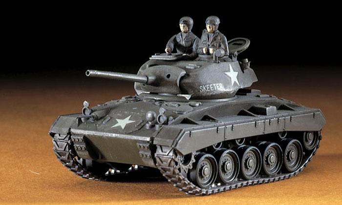 M24 チャーフィー軽戦車プラモデル(ハセガワ1/72 ミニボックスシリーズNo.MT019)商品画像_3