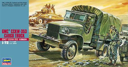 GMC CCKW-353 兵員輸送車プラモデル(ハセガワ1/72 ミニボックスシリーズNo.MT020)商品画像