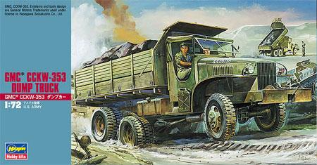 GMC CCKW-353 ダンプカープラモデル(ハセガワ1/72 ミニボックスシリーズNo.MT022)商品画像