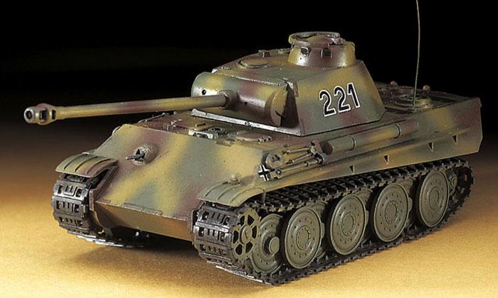 5号戦車 パンサー G型 スチールホイールプラモデル(ハセガワ1/72 ミニボックスシリーズNo.MT037)商品画像_3