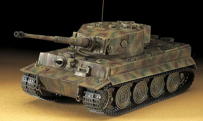 6号戦車 タイガー 1型 最後期型プラモデル(ハセガワ1/72 ミニボックスシリーズNo.MT039)商品画像_3