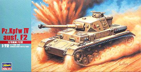 4号戦車 F2型プラモデル(ハセガワ1/72 ミニボックスシリーズNo.MT042)商品画像