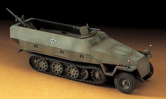 Sd.Kfz. 251/1 Ausf.D 装甲兵員輸送車プラモデル(ハセガワ1/72 ミニボックスシリーズNo.MT044)商品画像_3