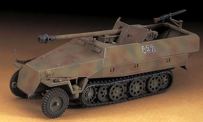 Sd.Kfz.251/22 Ausf.D パックワーゲンプラモデル(ハセガワ1/72 ミニボックスシリーズNo.MT045)商品画像_3