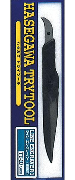 ライン エングレーバー 1 (細彫り用) (ツール)(ハセガワトライツールNo.TT010)商品画像