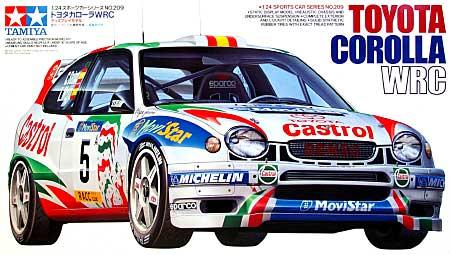トヨタ カローラ WRCプラモデル(タミヤ1/24 スポーツカーシリーズNo.209)商品画像
