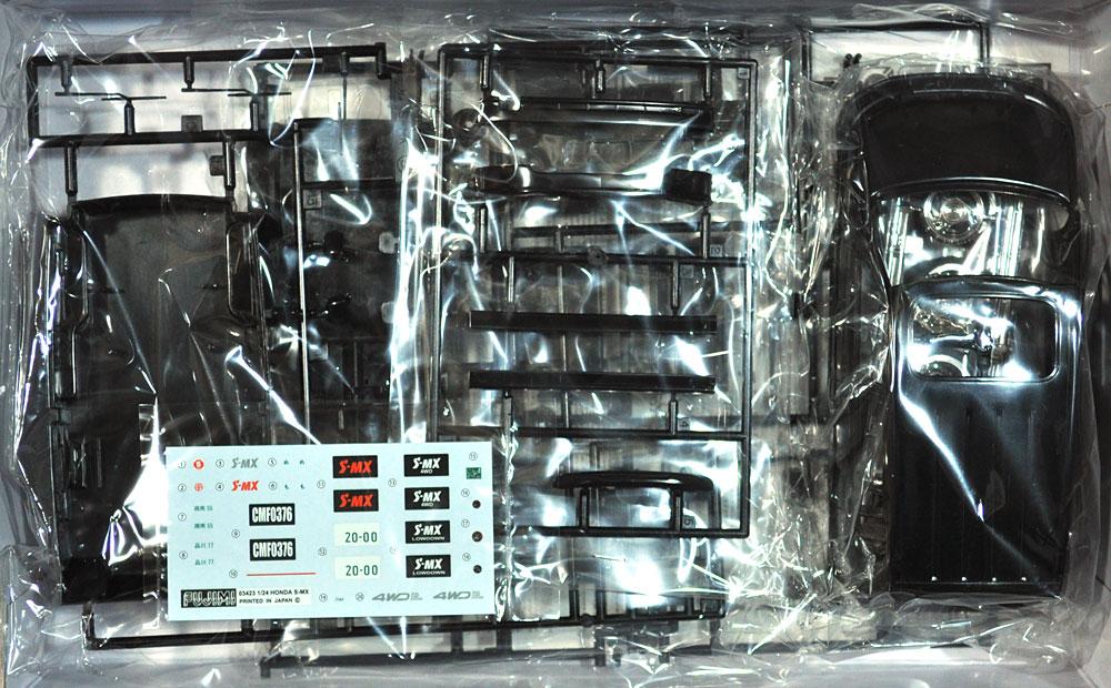 ホンダ S-MX ローダウンプラモデル(フジミ1/24 インチアップシリーズNo.055)商品画像_1