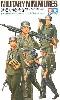 ドイツ 機関銃チーム行軍セット