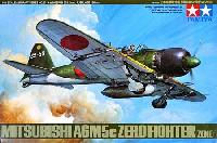 タミヤ1/48 傑作機シリーズ日本海軍 零式艦上戦闘機 52丙型 (A6M5c)