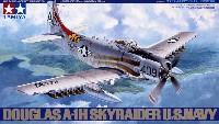 タミヤ1/48 傑作機シリーズダグラス A-1H スカイレーダー アメリカ海軍