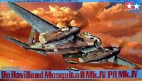 タミヤ1/48 傑作機シリーズデ・ハビランド モスキート B Mk.4 / PR Mk.4