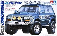 タミヤ1/24 スポーツカーシリーズトヨタ ランドクルーザー 80 スポーツオプション
