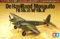 タミヤ1/72 ウォーバードコレクションデ・ハビランド モスキート FB Mk.4/NF Mk.2