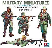 タミヤ1/35 ミリタリーミニチュアシリーズドイツ歩兵セット