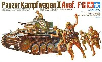 タミヤ1/35 ミリタリーミニチュアシリーズドイツ 2号戦車
