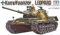 タミヤ1/35 ミリタリーミニチュアシリーズ西ドイツ レオパルト中戦車
