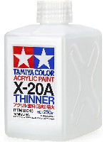 X-20A アクリル塗料 溶剤 特大 250ml