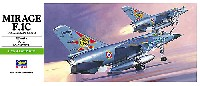 ハセガワ1/72 飛行機 Bシリーズミラージュ F.1C