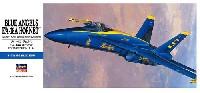 ハセガワ1/72 飛行機 Dシリーズブルーエンジェルス F/A-18A ホーネット