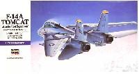 ハセガワ1/72 飛行機 EシリーズF-14A トムキャット 大西洋空母航空団 (アメリカ海軍 艦上戦闘機)