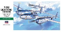 ハセガワ1/48 飛行機 JTシリーズP-38J ライトニング バージニア マリー