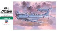 ハセガワ1/48 飛行機 JTシリーズSBD-3 ドーントレス