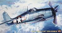 ハセガワ1/48 飛行機 JTシリーズF6F-3 ヘルキャット USS エセックス