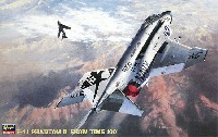 ハセガワ1/48 飛行機 PTシリーズF-4J ファントム 2 ショータイム100 (ワンピースキャノピー入)