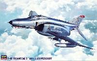 ハセガワ1/48 飛行機 PTシリーズF-4E ファントム 2 30周年記念塗装 (ワンピースキャノピー)