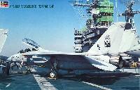 ハセガワ1/48 飛行機 PTシリーズF-14D トムキャット CVW-14