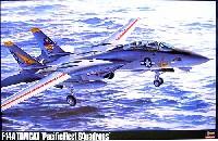 ハセガワ1/48 飛行機 PシリーズF-14A トムキャット太平洋空母航空団