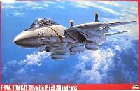 ハセガワ1/48 飛行機 PシリーズF-14A トムキャット 大西洋空母航空団
