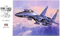 ハセガワ1/48 飛行機 PシリーズF-15E ストライク イーグル デュアル ロール ファイター