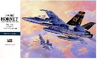ハセガワ1/48 飛行機 PシリーズF/A-18C ホーネット (アメリカ海軍・海兵隊 艦上戦闘・攻撃機)