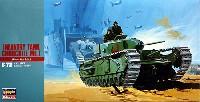 ハセガワ1/72 ミニボックスシリーズチャーチル Mk.1