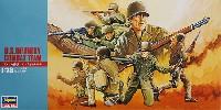 ハセガワ1/72 ミニボックスシリーズアメリカ歩兵 コンバットチーム