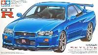 タミヤ1/24 スポーツカーシリーズニッサン スカイライン GT-R Vスペック (R34)