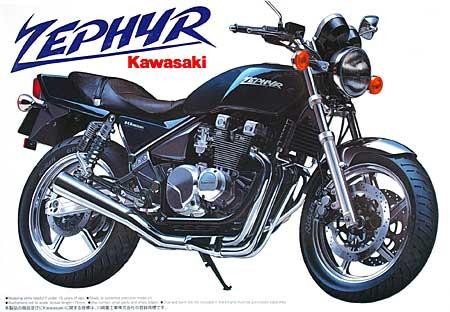 カワサキ ゼファープラモデル(アオシマ1/12 ネイキッドバイクNo.001)商品画像