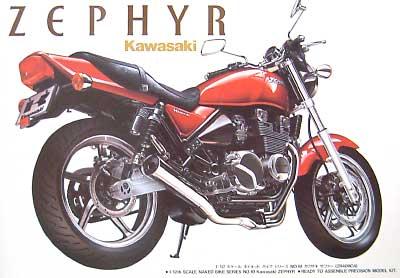 カワサキ ゼファー (ZR400C4)プラモデル(アオシマ1/12 ネイキッドバイクNo.010)商品画像