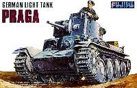 フジミ1/76 ナナロクシリーズドイツ陸軍 38t軽戦車 プラガ