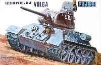 フジミ1/76 ナナロクシリーズロシア中戦車 T-34/85 ポルガ