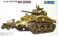 フジミ1/76 ナナロクシリーズアメリカ中戦車 M4A1 シャーマン