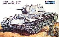 フジミ1/76 ナナロクシリーズロシア重戦車 KV-1A TYPE1941