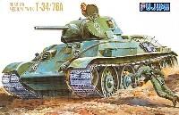 フジミ1/76 ナナロクシリーズロシア中戦車 T-34/76A