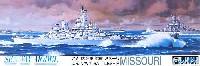 フジミ1/700 シーウェイモデルアメリカ海軍 戦艦 ミズーリ