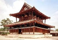 フジミ建築モデルシリーズ法隆寺 金堂