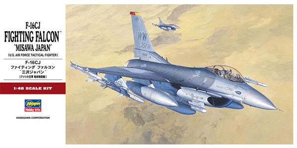 F-16CJ ファイティングファルコン 三沢ジャパンプラモデル(ハセガワ1/48 飛行機 PTシリーズNo.PT032)商品画像