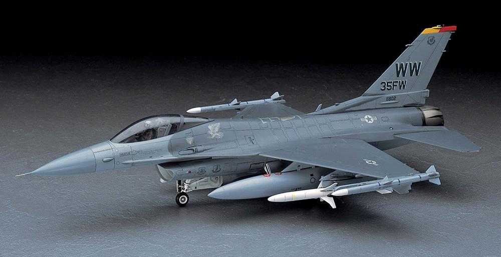 F-16CJ ファイティングファルコン 三沢ジャパンプラモデル(ハセガワ1/48 飛行機 PTシリーズNo.PT032)商品画像_2